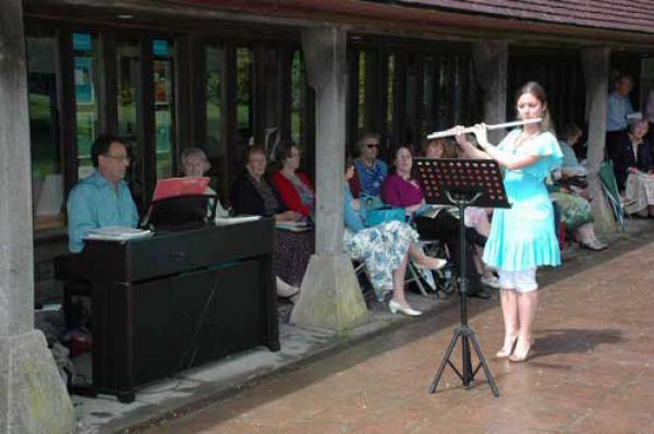 Stourhead Concert, June, 2012